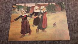 Paul Gauguin La Rondes Des Petites Bretonnes 1888 - Paintings