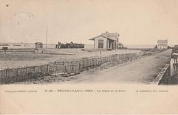 50 - REGNEVILLE SUR MER - La Gare Et Le Port - Otros Municipios