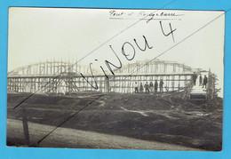 Carte Photo Construction Pont à Rouge Barre - La Madeleine Marcq En Baroeul à Localiser 59 Nord Passerelle Rouges Barres - Marcq En Baroeul