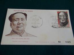 Niger 1977 Mao Tse Tung FDC VF - Niger (1960-...)
