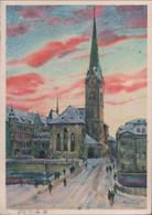 Schweiz - Zürich - Fraumünsterkirche - 1933 - ZH Zurich