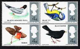 Great Britain - 1966 - British Birds - Mint Stamp Set - Ungebraucht