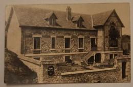 51 BOUILLY - CARTE PHOTO - Villa Ou Maison , Rue De L'église - Cpa Marne - Altri Comuni