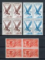 Ifni 1965. Edifil 215-17 X 4 ** MNH. - Ifni
