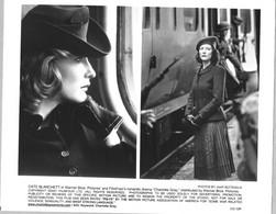Une Planche Photos Présentation Presse Film Warner Bross Charlotte Gray Avec Cate Blanchett - Foto's