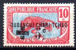 Oubangui: Yvert N° 18(*); Croix Rouge - Ongebruikt