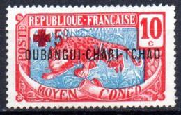 Oubangui: Yvert N° 19(*); Croix Rouge - Ongebruikt