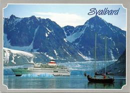 *CPM - NORVEGE -  SVALBARD  - Voilier Et Paquebot - Norwegen