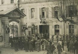 France Visite Des Cadets De Sandhurst à L'Ecole Militaire De Saint Cyr Ancienne Photo 1928' #19 - War, Military