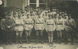 Allemagne Coblence Etat Major De L'Armée Du Rhin Ancienne Photo 1923 - Guerra, Militari