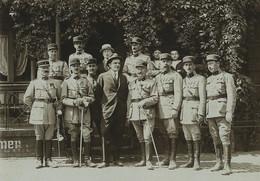Allemagne Sankt Goar Les Officiers Du 12e Génie Ancienne Photo 1921 - Guerra, Militari