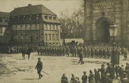 Allemagne Spire Salut Aux Couleurs Général Puypéroux Ancienne Photo 1919 - Krieg, Militär