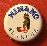 """Polynésie Française - Tahiti / Hinano """" Blanche """" - Bière / Janvier 2021 - Bière"""