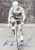 CARTE CYCLISME KERL HEIZ KUNDE SIGNEE TEAM ROKADO 1975 - Radsport