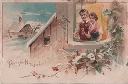 Prosit Neujahr - Anstossen - Año Nuevo
