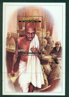 ZAMBIA 1998 Mi BL 34** 50th Anniversary Of The Death Of Mahatma Gandhi [DP1311] - Mahatma Gandhi
