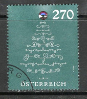 Oostenrijk 2019, Mi 3494, Hoge Waarde, Swarovski, Gestempeld, - 2011-... Afgestempeld