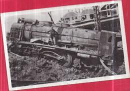 GUERRE 1939-1945 - Dépôt Des Locomotives De BÉTHUNE - Machine Soufflée - Éditions FAUCHOIS Béthune - Oorlog 1939-45