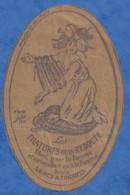 Publicité Ancienne Imprimée Sur Papier Kraft Les Filatures De La REDOUTE Femme D'après Jepo Création Aslar Paris - Publicidad