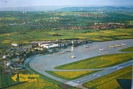 Avion / Airplane / Stuttgart Airport / Flughafen Stuttgart / Aéroport De Stuttgart - Aerodromes