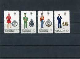 GIBRALTAR 1972 Uniforms.MNH. - Gibraltar