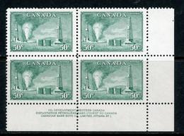 "Canada MNH 1950 PB ""Oil Wells"" - Sin Clasificación"