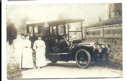 CARTE PHOTO - AUTOMOBILE Vers 1910 - Turismo