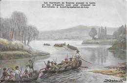 Carte Postales Officielle Des Fêtes Du Centenaire De La Défense De ROANNE - 4,5,6 Juillet 1914 - Roanne