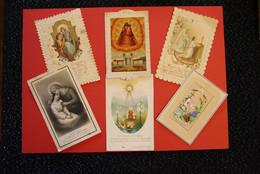 * - Lot De 6 Images Pieuses Anciennes - Devotion Images