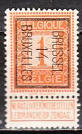 PRE45B  Lion Debout - Brussel 14 Bruxelles - Bonne Valeur - MNG - LOOK!!!! - Typos 1912-14 (Lion)