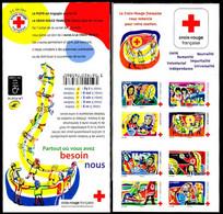 France Carnet N** Yv:2061 Mi:6737/44MH Corvasier Partout Où Vous Avez Besoin De Nous - Rotes Kreuz
