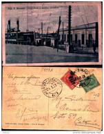 29745) ITALIA-cartolina -di- Villa S. Giovanni-ferry-boats E Stazione Ferroviaria-viaggiata - Otras Ciudades