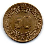 Algérie -  50 Centimes 1971 - SUP - Algeria