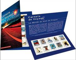 Collector 2010 - Collector Carnets De Voyage 2 - 10 TP Adhésifs Lettre Prioritaire 20 G France - Collectors