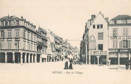 51 Reims Rue De L' Etape Cpa Magasin Commerce Comptoir De La Comete - Reims
