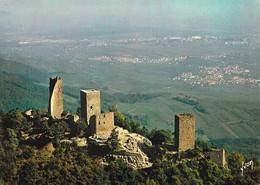 68 - Les Trois Châteaux - Weckmund, Wahlenbourg Et Dagsbourg (XIIe Siècle) - Vue Aérienne - Zonder Classificatie