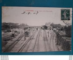 CPA - LIBOURNE - La Gare Et La Passerelle - Libourne