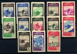 Marruecos Español Nº 312/24. Año 1949 - Spanish Morocco