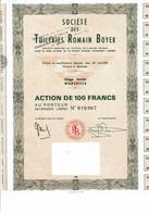 13-TUILERIES ROMAIN BOYER.. STE DES ... MARSEILLE - Otros
