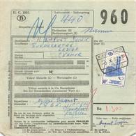 Belgien Bahnpost Spoorweg , Spoorwegdoc 1957 Kapellen - 1952-....