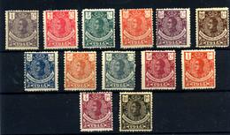 Guinea Española Nº 98/110. Año 1914 - Guinea Española