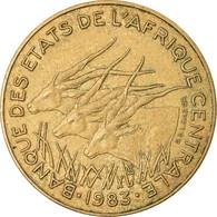 Monnaie, États De L'Afrique Centrale, 5 Francs, 1983, Paris, TTB - Central African Republic