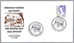 ARTE RUPESTRE VALLE CAMONICA - PREHISTORIC ROCK ART. Capo Di Ponte, Brescia, 2009 - Prehistory