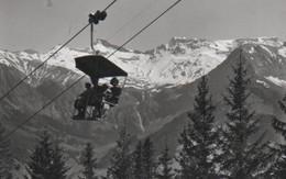 Schweiz - Adelbodel - Schwandfeldspitz - Sesselbahn - Ca. 1965 - BE Berne