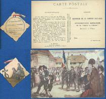 Lot 1914-1918, Journée De Deuil National, Libération Alsace, Chasseurs, Patrie - 1914-18