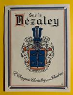 17967 - Sur Le Dézaley R.Chappuis-Chevalley Chexbres Ancienne étiquette - Andere