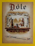 17969 - Dôle J.de Torrenté Sion 2 Anciennes étiquettes - Andere