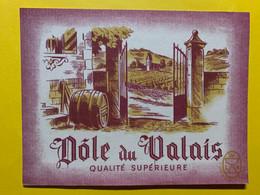 17970 - Dôle Du Valais Ancienne étiquette - Andere