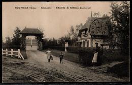 GOUVIEUX CHAUMONT L ENTREE DU CHATEAU  DESMAREST - Gouvieux