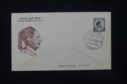 LIBYE - Enveloppe FDC En 1955 - L 84392 - Libye